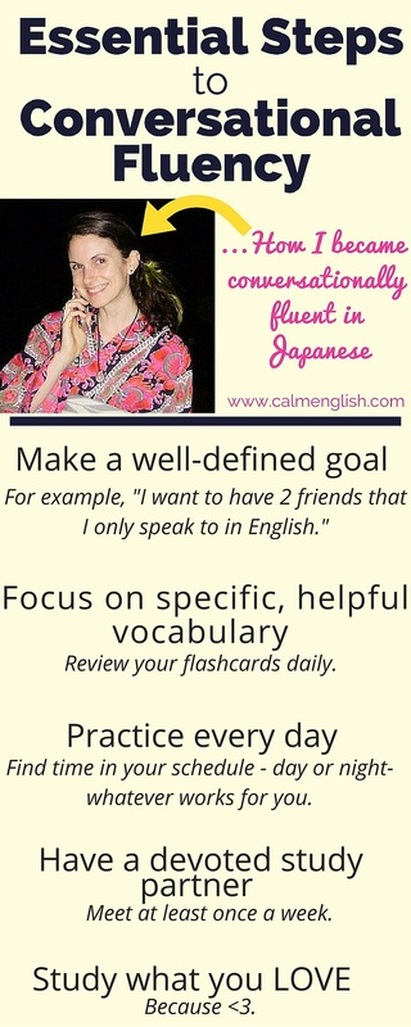 Essential steps to take to really improve your spoken English. I used these steps to become fluent in Japanese in 6 months.