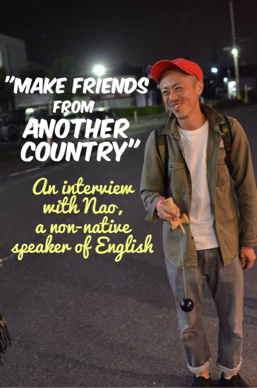 Hearing others' stories can be inspirational! Read this interview with Nao, a non-native English speaker! to see how he learned to REALLY speak English. From www.calmenglish.com