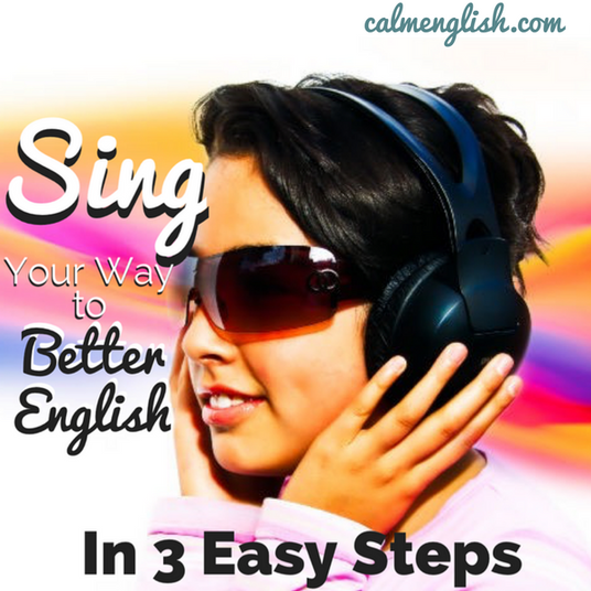 How to use songs to help you improve your vocabulary, pronunciation and understanding of casual and slang English.  For you free American English pronunciation course, go here!: www.calmenglish.com/join