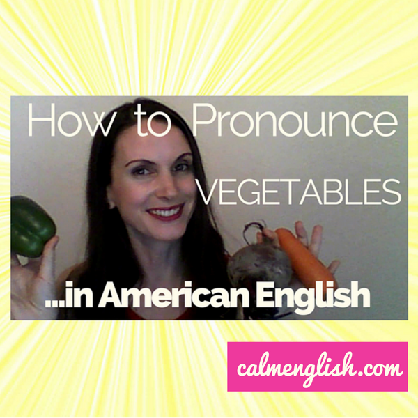 Did you know you were pronouncing 'vegetables' incorrectly?? Here's how to say 'vegetables' in American English. For more pronunciation tips, get my free pronunciation course here: http://www.calmenglish.com/join